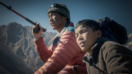 Photo de presse WALL OF SHADOWS - Ngada und Dawa Sherpa, Photo by Piotr Rosolowski ©Vinca Film